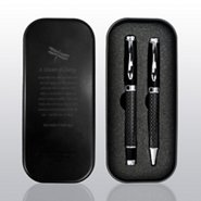 Executive Carbon Fiber Pen Gift Set